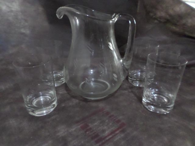 Jogos de copo e jarra em Cristal - Foto 2