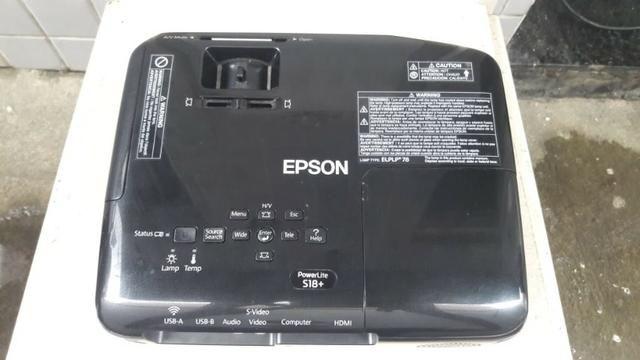 Projetor Epson S18+ com 6 Meses de Garantia - Foto 3