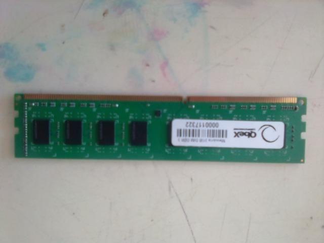 Memória DDR3 2gb p/ PC, R$ 25,00