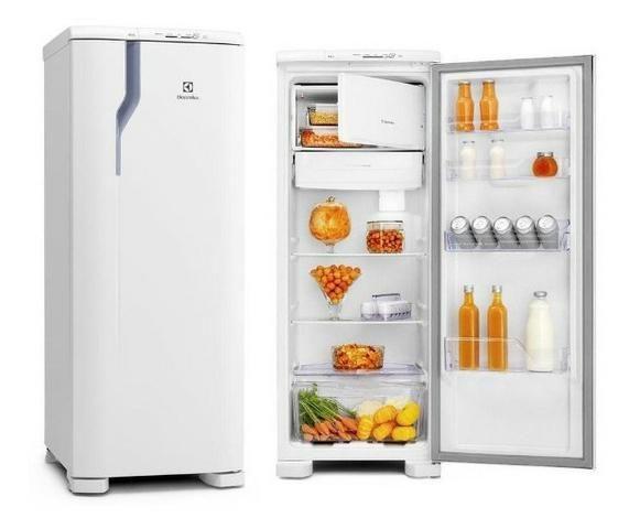 Refrigerador Electrolux Degelo Prático RE31 com Controle de Temperatura 240L- Branco