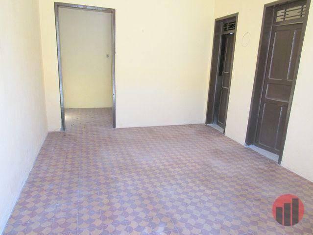 Casa para alugar, 100 m² por R$ 850,00 - Benfica - Fortaleza/CE - Foto 2