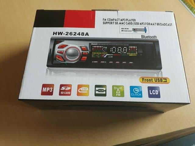 Radio Automotivo Com Bluetooth