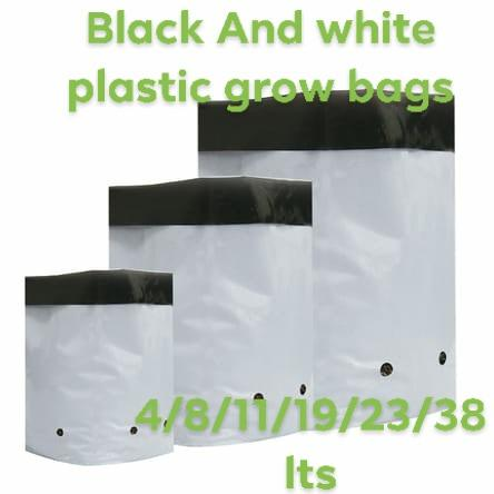 Grow bags Black/White