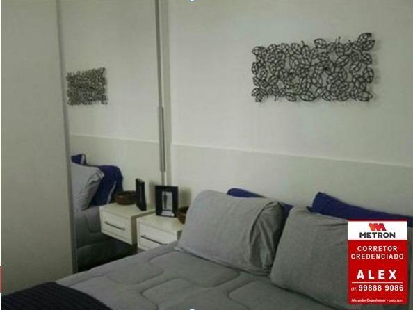 ALX - 18 - Mude para Morada de Laranjeiras - Apartamento de 2 Quartos com Varanda - Foto 12