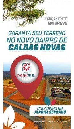 Lotes Parcelados no Setor Serrano Jardim Park Sul em Caldas Novas - Foto 12