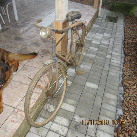 Antiga Bicicleta Masculina Aro 28 - Foto 3