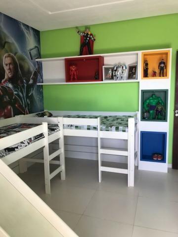 Casa térrea com 310m² - 3 suítes - sala de cinema ? 4 vagas e a 20 minutos de Ponta Negra - Foto 14