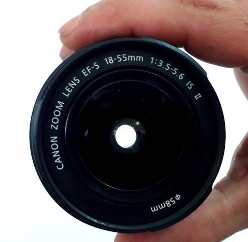 Lente canon 18-55 - Foto 3