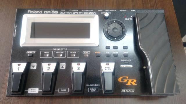 Pedaleira Roland GR-55 + Captador GK3 e cabo midi - * Imperdível - Foto 3