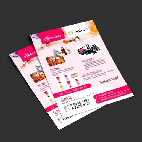 Panfletos promocionais - Foto 3