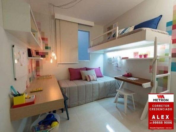 ALX - 18 - Mude para Morada de Laranjeiras - Apartamento de 2 Quartos com Varanda - Foto 13