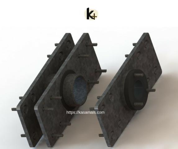Kit para montagem de painel giratório em móveis - Foto 3