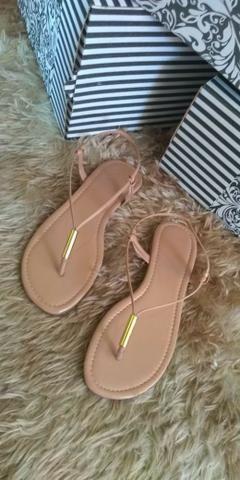 e63e3dc86d Mega promoção de sandalia rasteirinha para o verão - Roupas e ...