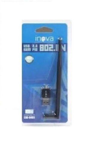 Adaptador Wireless Inova Usb Antena Wifi 300mbps 802.in