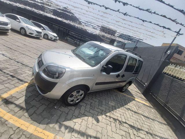 Fiat Doblo Essence 1.8 Prata 2019 r$ 55.200 - Foto 3