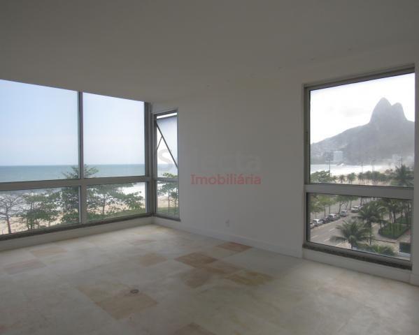 Apartamento de 330 m², lindo, na parte mais nobre e valorizada da Av. Vieira Souto, junto  - Foto 4