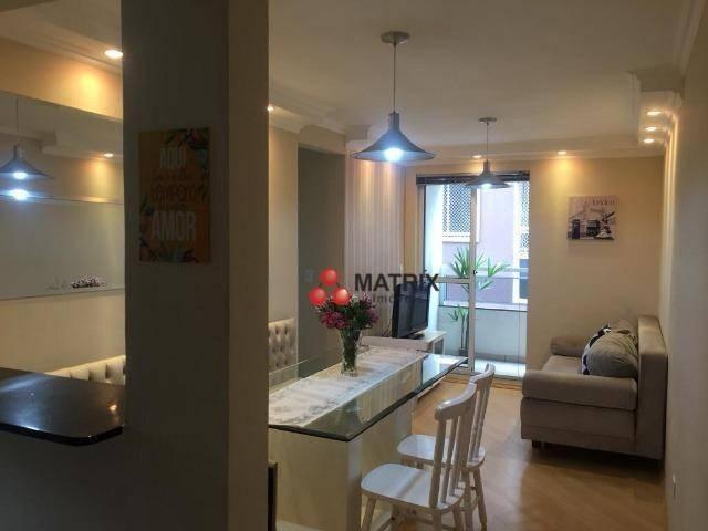 Apartamento com 3 dormitórios à venda, 63 m² por R$ 355.100,00 - Cristo Rei - Curitiba/PR - Foto 19