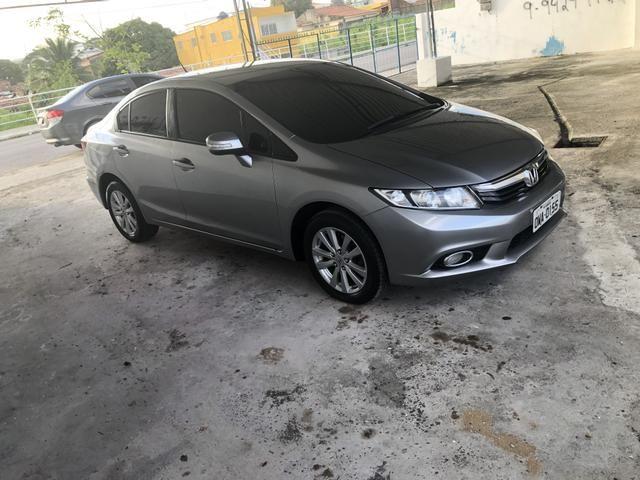 Honda civic LXR 2.0 2014/2014 Aut com Multimídia + IPVA 2020 Quitado - Foto 4