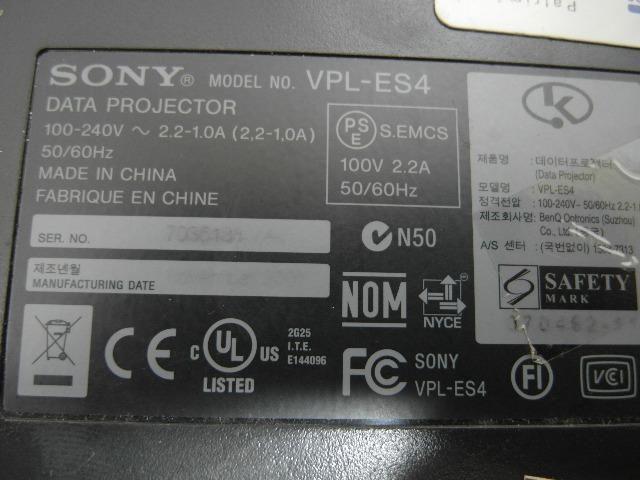 Projetor Sony Vpl Es4 2000 Lúmens - Foto 5