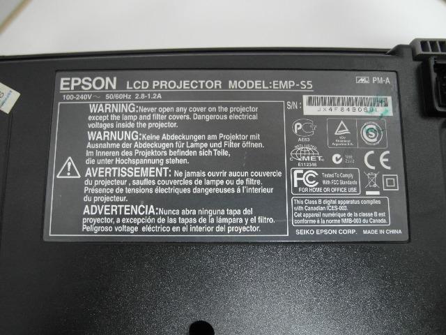 Projetor Epson S5+ S5 2200 Lúmens - Foto 5