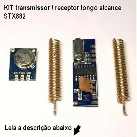 Módulo STX882 transmissor 433Mhz