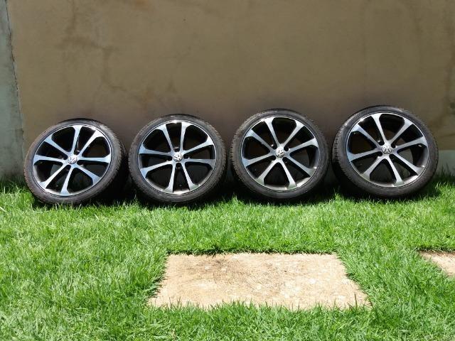 """Vendo rodas e pneus aro 17"""" - Foto 3"""