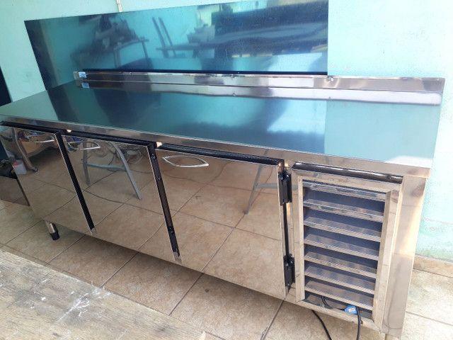 Equipamentos em aço inox sobre medidas para cozinhas industriais bares - Foto 3