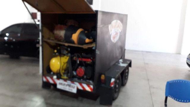 Vendo Lava Jato Movel - aceito troca em moto(cg, biz, pcx) e carro(mais novo) - Foto 3