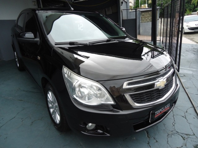 Chevrolet colbalt ltz 1.4 flex 102cv 4p ano 2012 preto - Foto 3