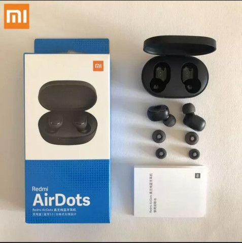 Fone de Ouvidos Airpods Bluetooth Xiaomi Pega em todos os celulares  - Foto 3