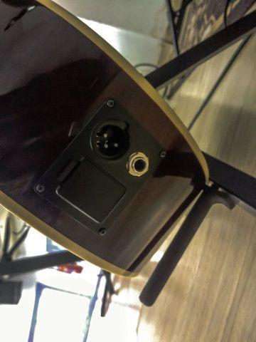 Violão Harmonics GE-30NT Folk Eletroacústico Aço<br><br> - Foto 4