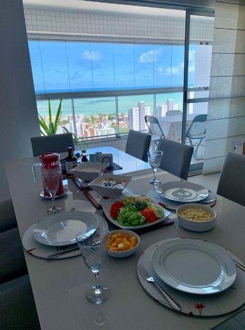 Ótimo apartamento no Residencial Alfredo Volpi, Bessa, 3 suítes + DCE, com linda vista  - Foto 2