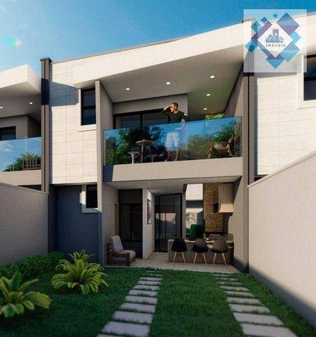 Casa com 4 dormitórios à venda, 137 m² por R$ 440.000,00 - Centro - Eusébio/CE - Foto 3
