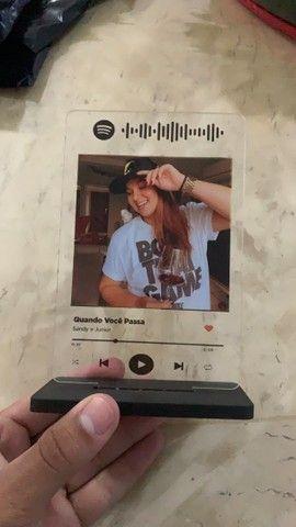 Plaquinhas Spotify acrílico  - Foto 5