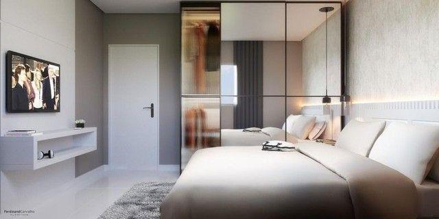 136 Condomínio Fit One. Apartamentos de 55m² no porcelanato na região do Turu - Foto 5
