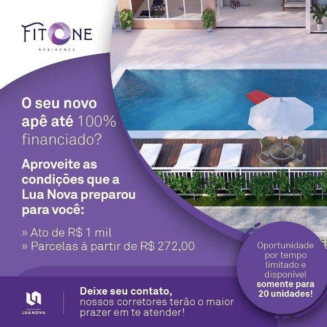 136 Condomínio Fit One. Apartamentos de 55m² no porcelanato na região do Turu