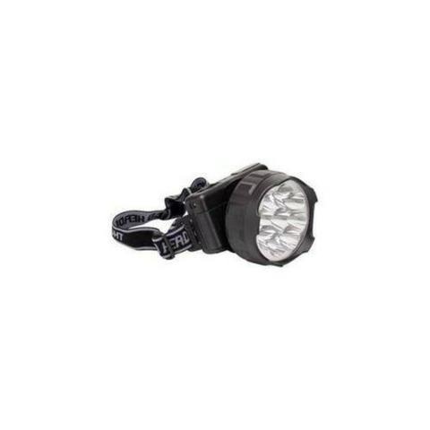 Lanterna para Cabeça 9 LEDs Recarregável Bivolt Noll 351,0003