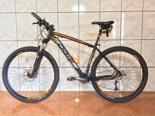 Bicicleta 29 Oggi Big Wheel 7 2 2018 Preto Laranja Mountain Bike Mtb Nova