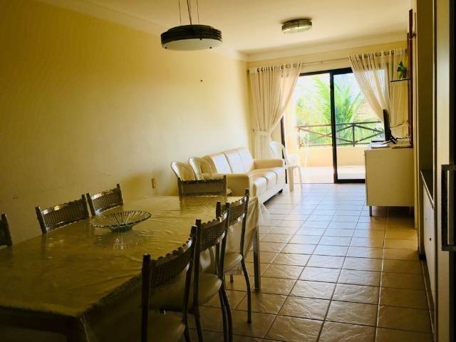 Apto temporada Aquaville 2 suites, próximo Beach Park no Porto das Dunas - Foto 6