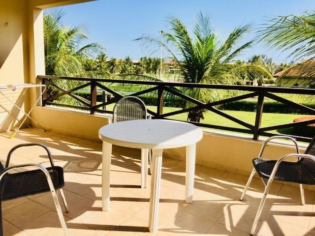 Apto temporada Aquaville 2 suites, próximo Beach Park no Porto das Dunas - Foto 3