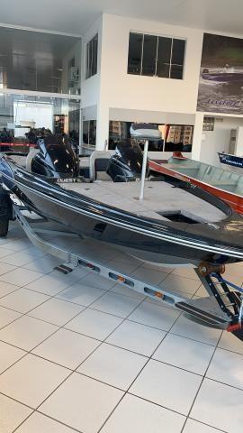 Bass Boat Quest 290 + carreta trucada