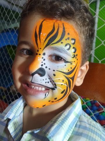 Pintura facial em eventos - Foto 4