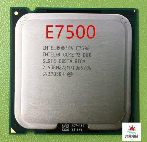 Processador 775 E7500