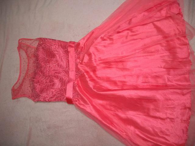 Vestido rosa maravilhoso - Foto 4