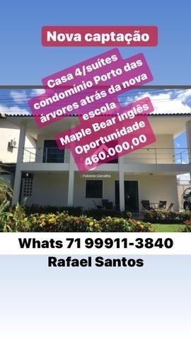 Casa 3/4 3 suítes condomínio pros club caixa abrantes 460 mil