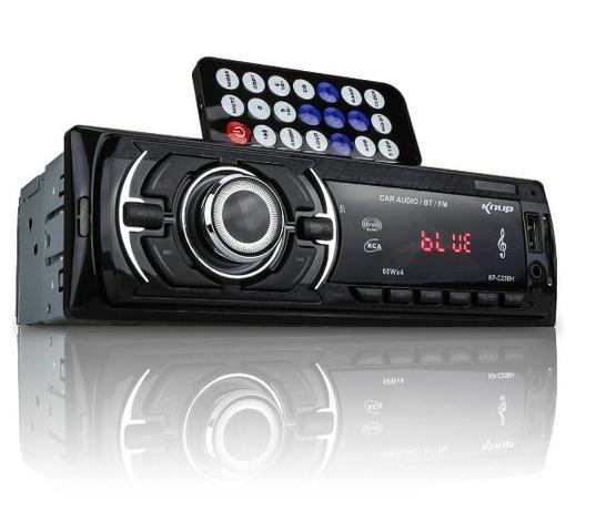 Som com Radio e Pen Driver com Entrada SD ( Entrego) tenho com Bluetooth