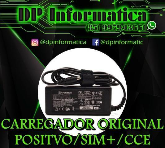 Carregadores Positivo Plug Grosso e Fino 5V/3A
