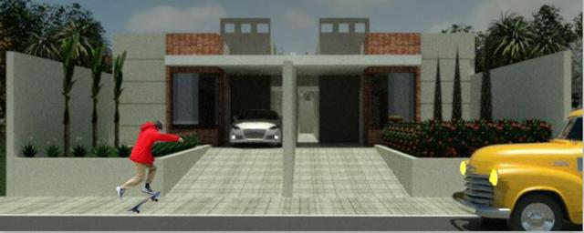 Casas 3 dormitórios, piscina e churrasqueira
