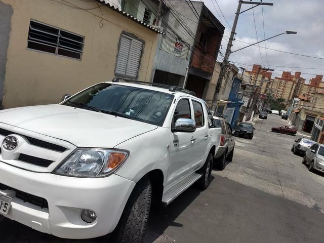 Hilux 2008 D4D turbo diesel só 53,000 - Foto 2
