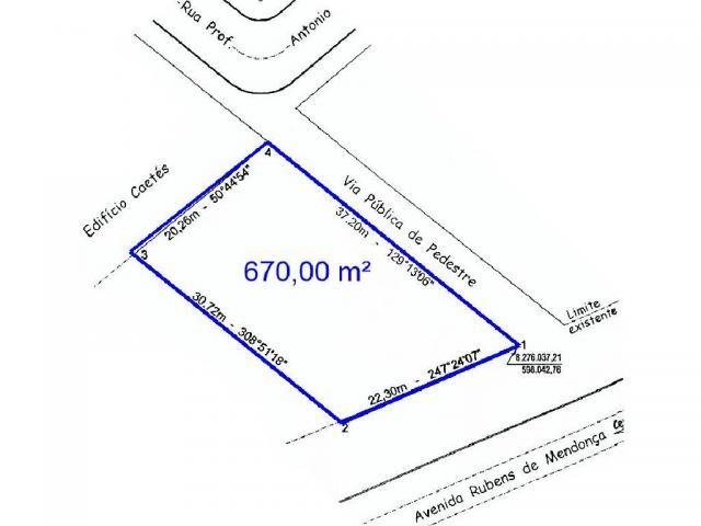 Loteamento/condomínio para alugar em Araes, Cuiaba cod:23011 - Foto 8